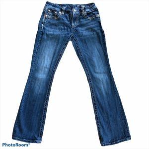 Miss Me Singature Boot Cut Denim Jeans
